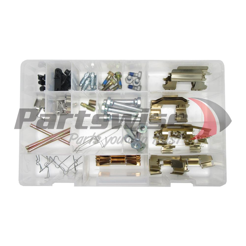 PW8952 Disc brake hardware assortment kit